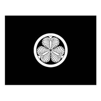 Aizuのhollyhock (19) ポストカード