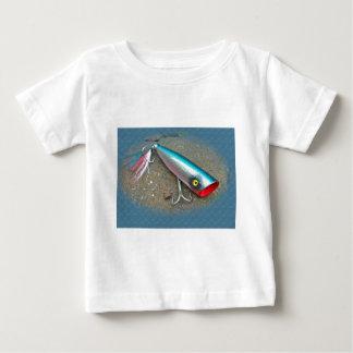 AJSの塩水の魅惑のPopperの青いドラゴン項目 ベビーTシャツ
