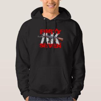 AK四十七のフード付きのスエットシャツ パーカ
