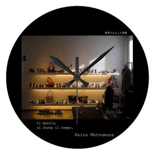Akira Matsumura firenze galleriafirenzeitaly ラージ壁時計