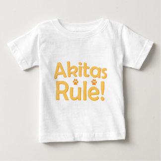 Akitasの規則! ベビーTシャツ