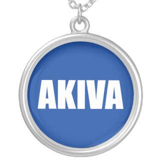 Akiva シルバープレートネックレス