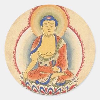 Akshobhya仏 ラウンドシール