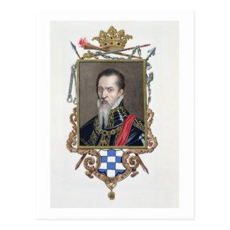 AlのフェルディナントAlvarez deトレド公爵のポートレート ポストカード