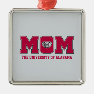 Alを持つアラバマのお母さんの大学 メタルオーナメント