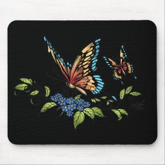 Alリオによってフルカラー蝶および蝶 マウスパッド