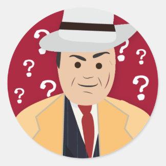 Al Capone (シンプルな歴史) ラウンドシール