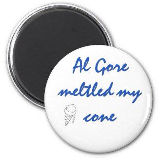 Al Goreは私の円錐形を溶かしました マグネット