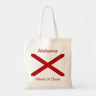 Alabamanの旗のバッグ トートバッグ