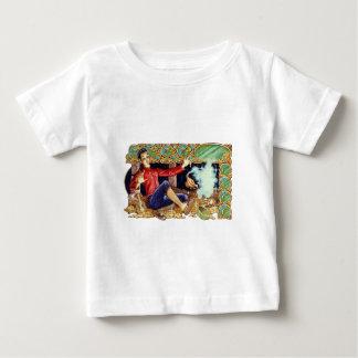 Aladdinのランプの乳児のTシャツ ベビーTシャツ