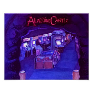Aladdinの城(blackliteの能動態) ポスター