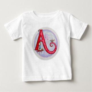 AladdinのAランプ、Aの願い ベビーTシャツ