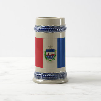 Alagoasのブラジルの旗 ビールジョッキ