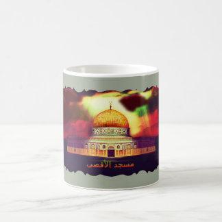 AlAqsaのモスクのمسجدالأقصى コーヒーマグカップ