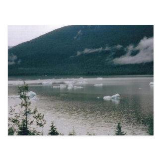 alaska湖 ポストカード