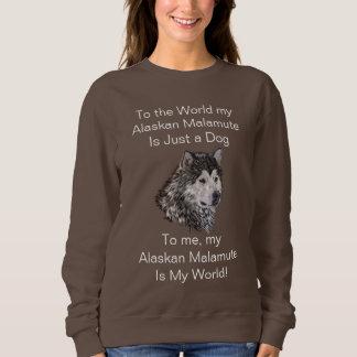 Alaskan Malamute スウェットシャツ