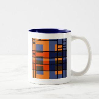 Albers及びモンドリアン ツートーンマグカップ