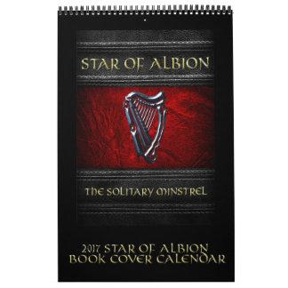 Albionの表紙のカレンダーの2017星 カレンダー