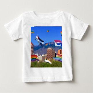 Albuqerqueのプライド ベビーTシャツ