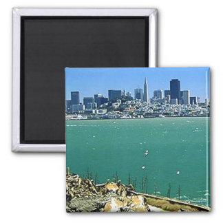Alcatrazからのサンフランシスコ マグネット