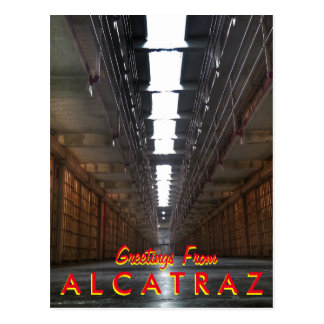 Alcatrazからの挨拶 ポストカード