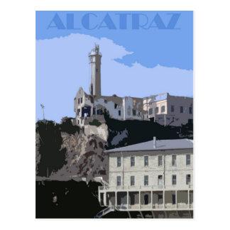 Alcatrazの刑務所の郵便はがき ポストカード