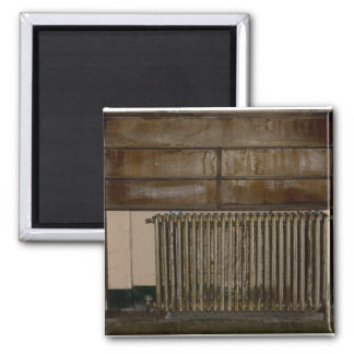 Alcatrazの刑務所の錆ついたラジエーター(部屋ヒーター) マグネット