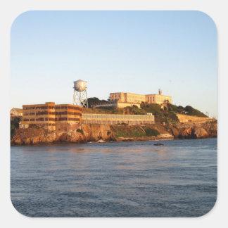 Alcatrazの刑務所 スクエアシール