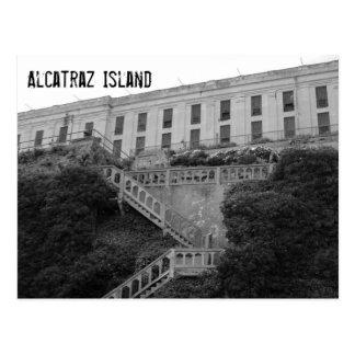 Alcatrazの刑務所 ポストカード