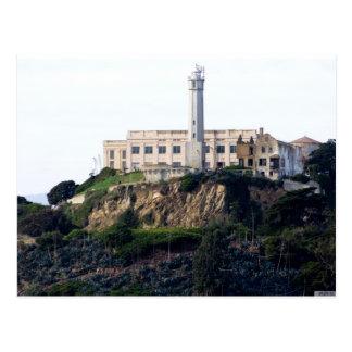 Alcatrazの島の刑務所 ポストカード