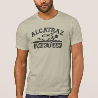 Alcatrazの水泳チームTシャツ Tシャツ