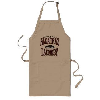 alcatrazの洗濯 ロングエプロン