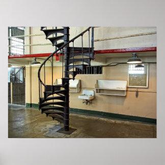 Alcatrazの監獄の理髪店 ポスター