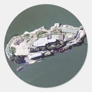Alcatrazの航空写真 ラウンドシール