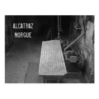 Alcatrazの遺体安置所 ポストカード