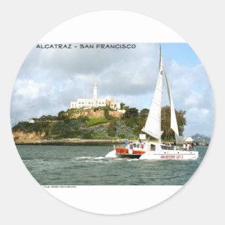 Alcatraz -サンフランシスコ ラウンドシール