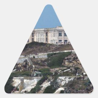 Alcatraz 三角形シール
