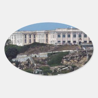 Alcatraz 楕円形シール