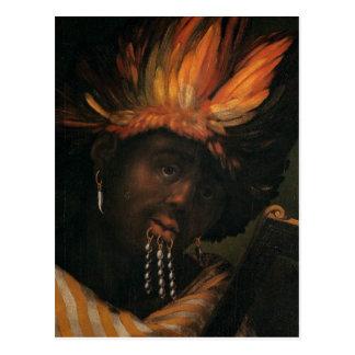 Alchitrofのdell'Altissimoによるエチオピアの皇帝 ポストカード