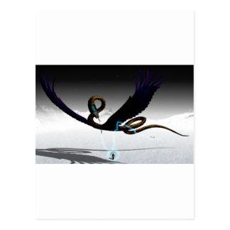 Alcorn -飛んでいるな蛇V9 ポストカード