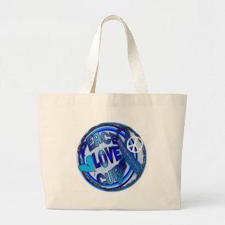 aldの認識度の平和愛治療 ラージトートバッグ