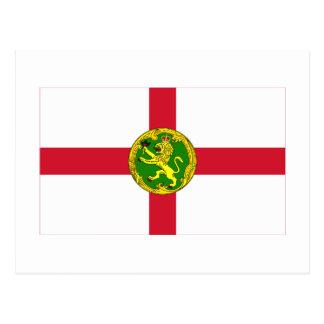 Alderneyの旗 ポストカード