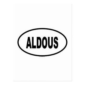 ALDOUS ポストカード