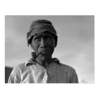 Aldridgeのプランテーション- 1937.の老人 ポストカード