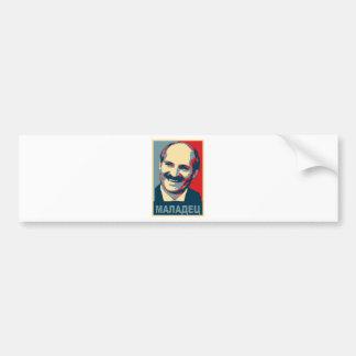Aleksandr Lukashenkoのmaladec バンパーステッカー