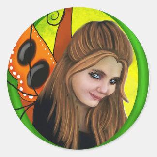 Alexaの妖精のコピー ラウンドシール