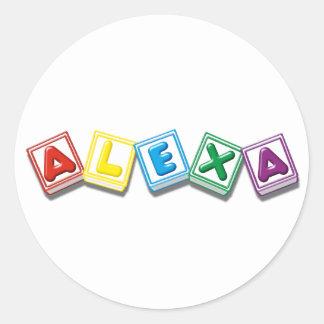 Alexa ラウンドシール