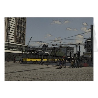 Alexanderplatz、ベルリン カード