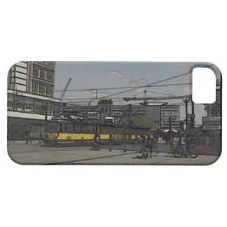 Alexanderplazt、ベルリン iPhone SE/5/5s ケース