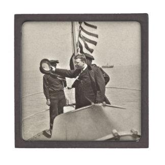 AlgonquinのBullのアメリカヘラジカのTeddy Roosevelt大統領 ギフトボックス